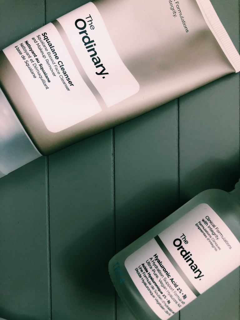The Ordinary Squalane Cleanser & Hyaluronic Acid